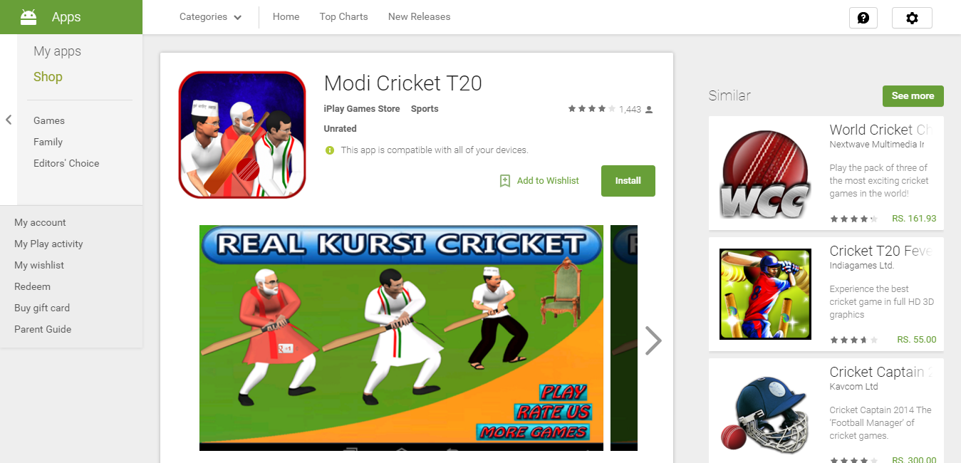 Best Narendra Modi Games Free Download