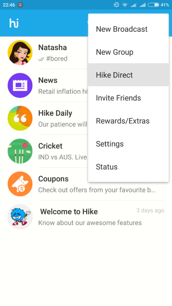 hike share files