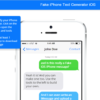 iPhone Fake Text Generator Tools