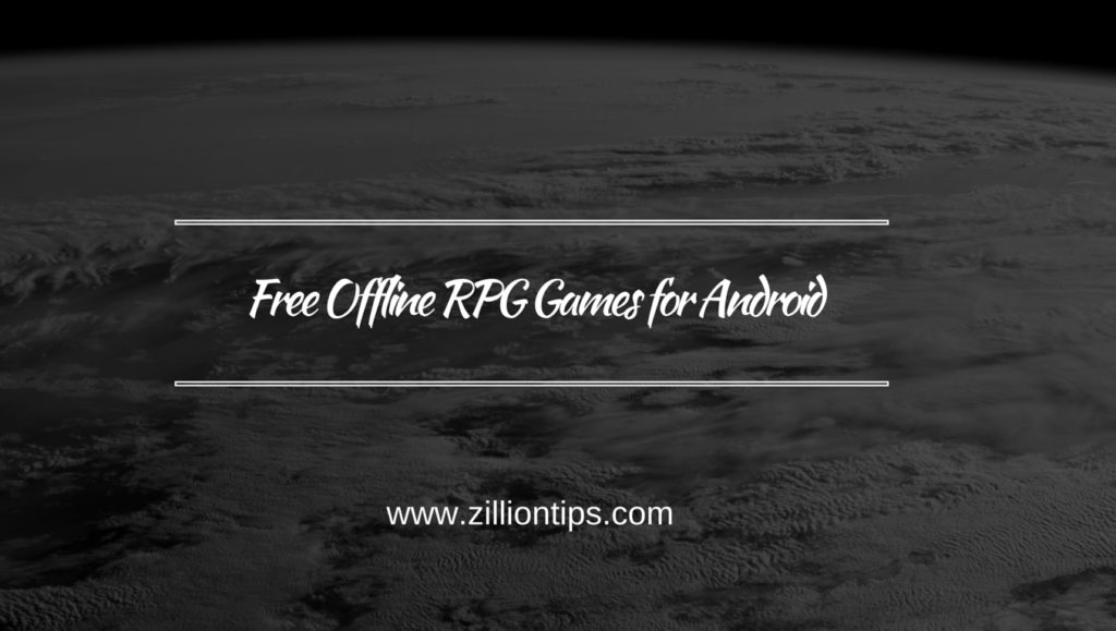 Free Offline RPG Games for Android