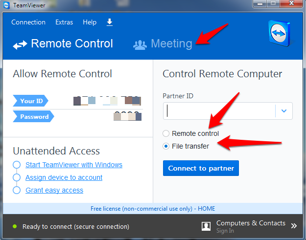 how to connect teamviewer online