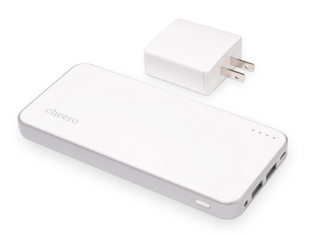 Cheero battery bank (12,000 mAh)