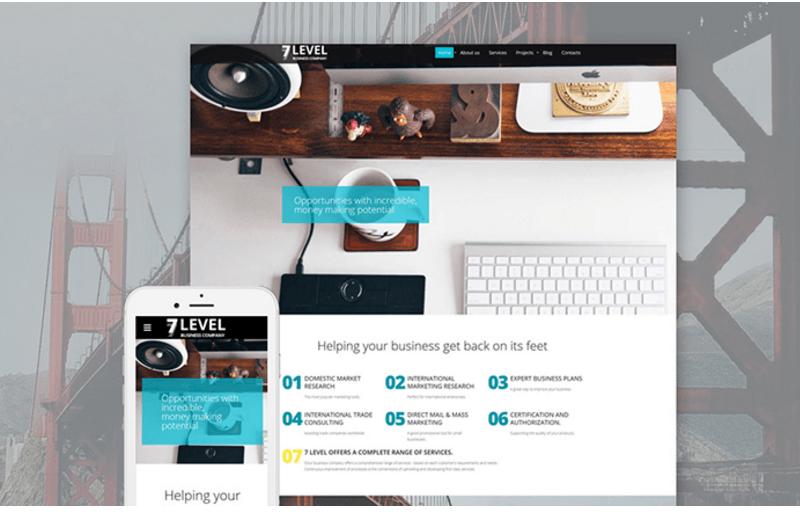 7-level-business-website-template