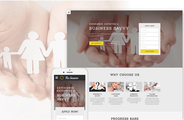 business-savvy-insurance-website-template
