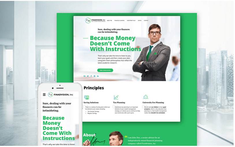 finadvision-inc-financial-planning-website-template