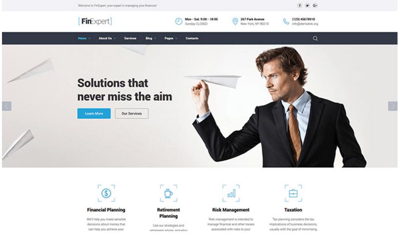 finexpert-financial-advisor-website-template