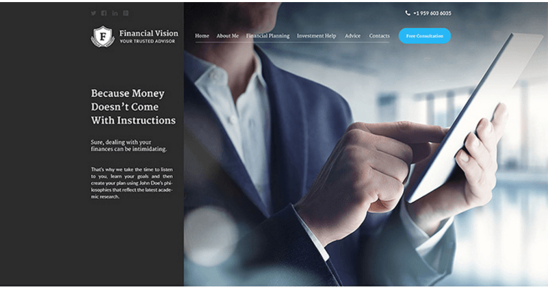 financial-vision-website-template