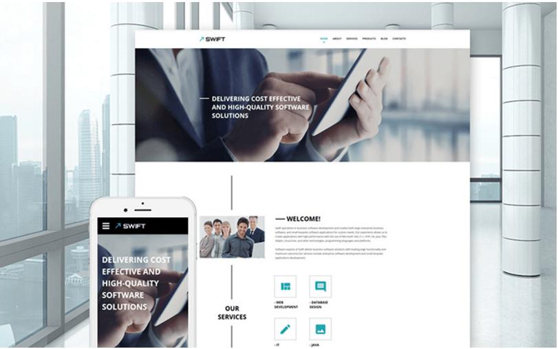swift-business-website-template