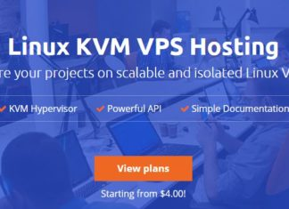 linux kvm hosting