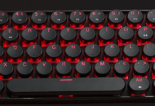 Lin-don tech Bluetooth mechanical keyboard-min
