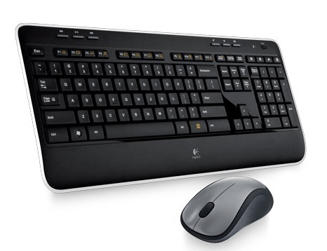Logitech MK520 mechanical wireless keyboard-min