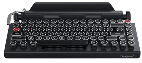 Qwerkywriter Typewriter Wireless Keyboard-min