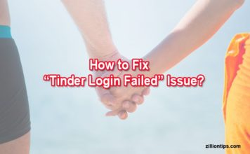 How to Fix Tinder Login Failed Issue