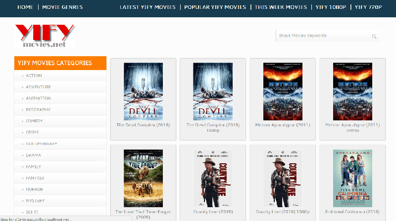 yify movie site