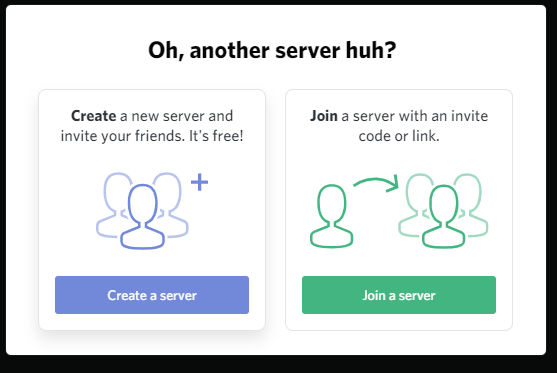 How to join the server on Discord