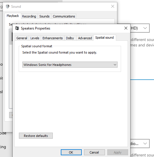 how to improve sound quality on windows 10 laptop