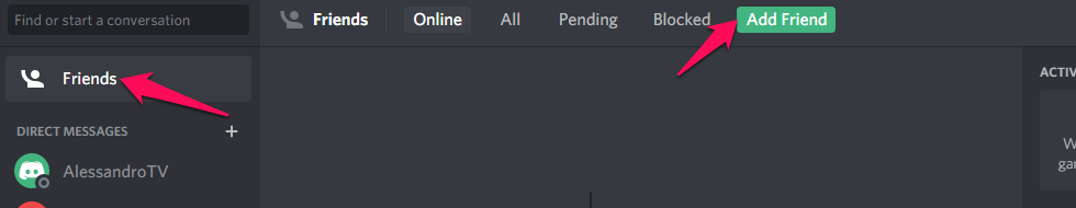 how you can find someone's Discord number