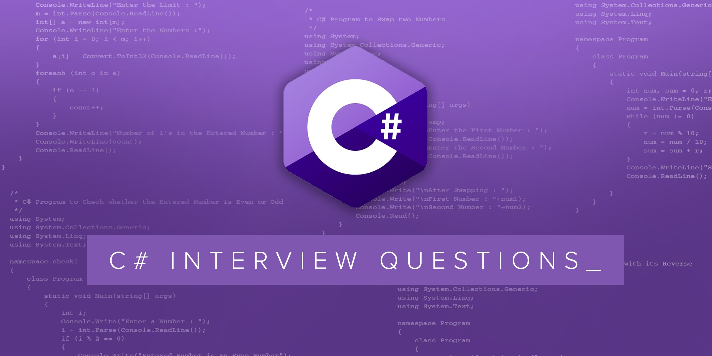 C# Multithreading Interview Questions & Answers