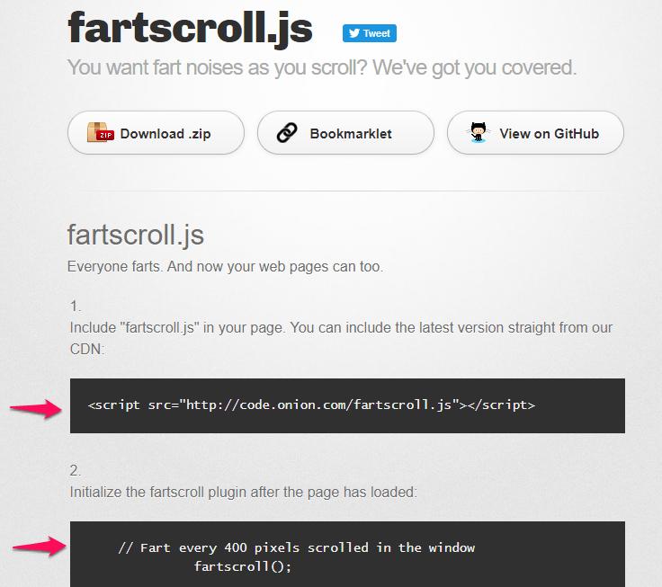 fartscroll