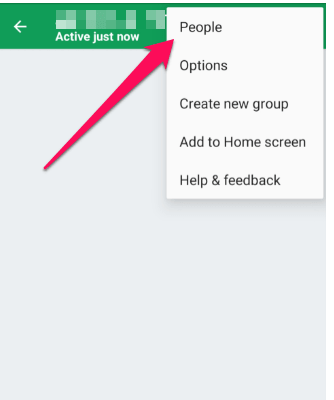how to block people on google hangouts